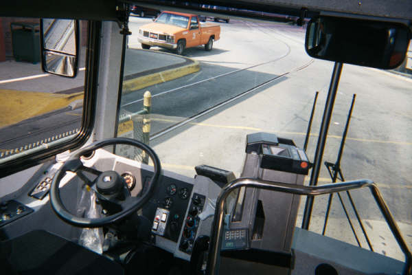 Metrotrans Driver's View