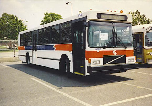 8590 at the 1994 SEPTA Roadeo. Collection of Doug Diehl