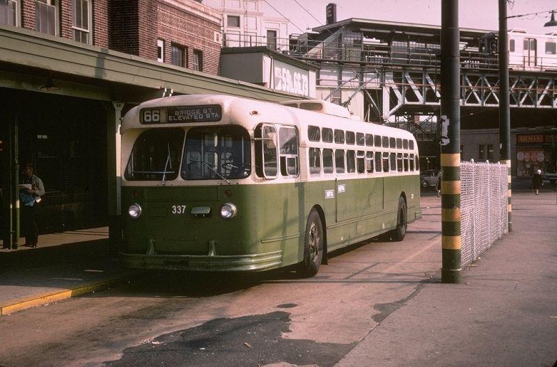 Philadelphia Transit Vehicles 1955 Marmon Herrington Tc