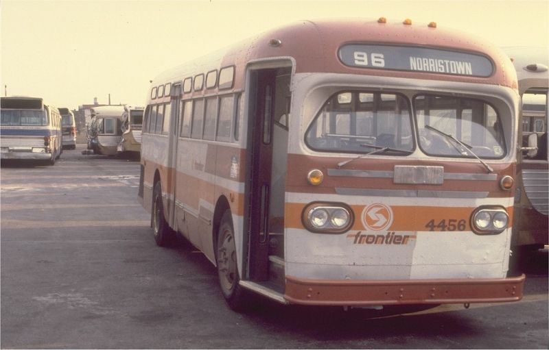 Philadelphia Transit Vehicles 1955 1957 General Motors