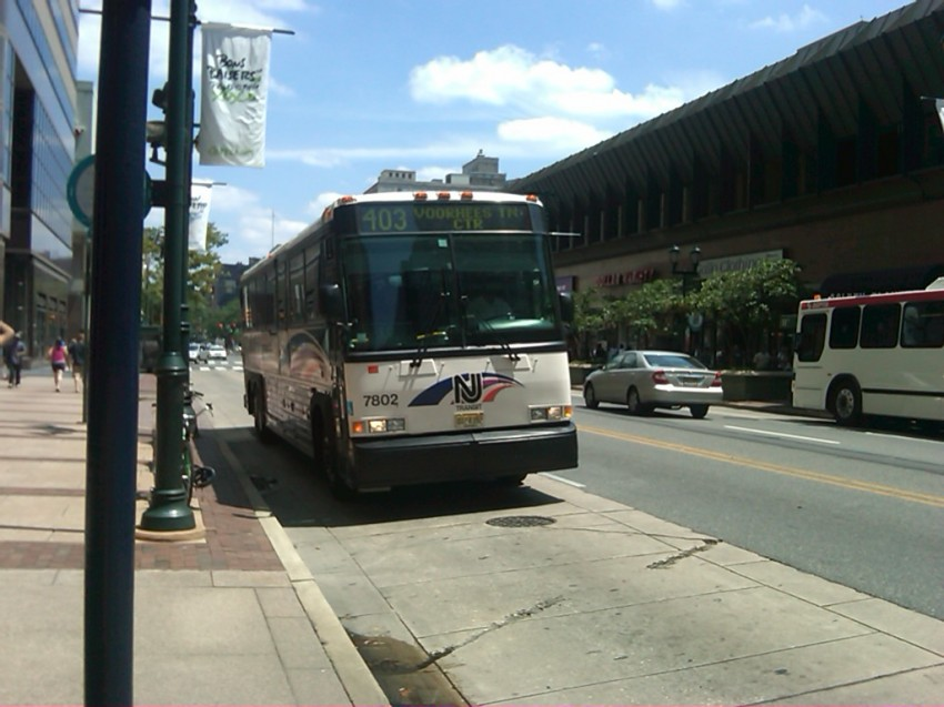 Philadelphia Transit Vehicles: NJ Transit - NJT 7802